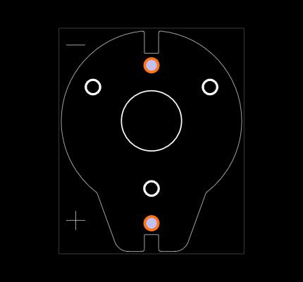 BH600-5.8-G Footprint