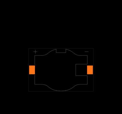 BHSD-2032-SM Footprint