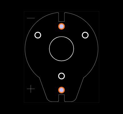 BH600 Footprint