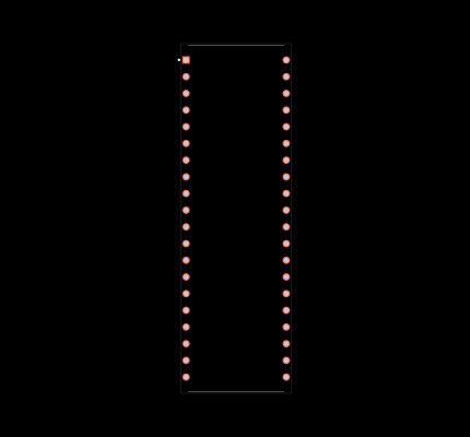 DS80C310-MCG+ Footprint