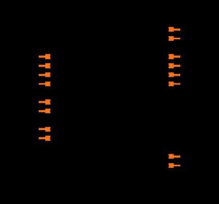 MAX14850ASE+T Symbol