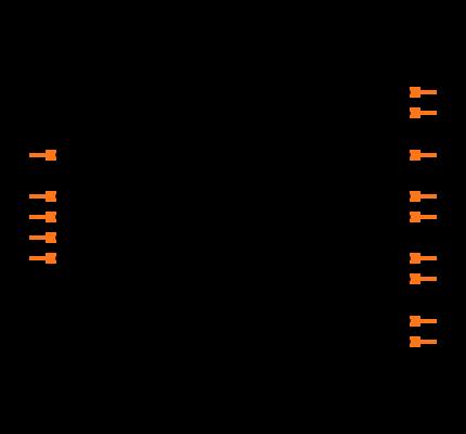 MAX14854GWE+ Symbol