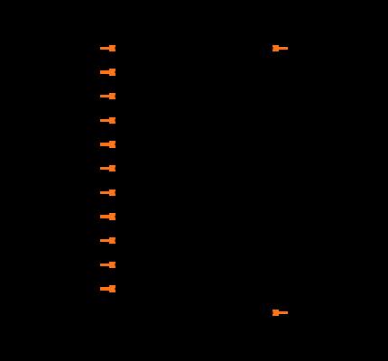 MAX16126TCD+ Symbol