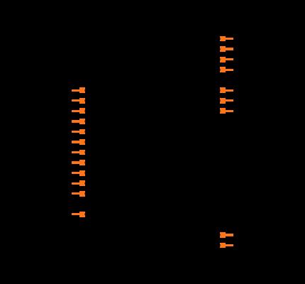 MAX17005BETP+T Symbol