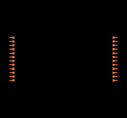 MAX206EEAG Symbol