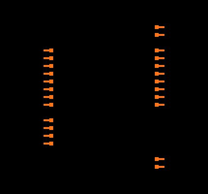 MAX208CAG Symbol