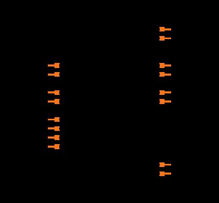 MAX232ACPE+ Symbol