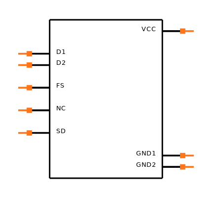 MAX253ESA+T Symbol