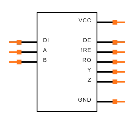 MAX3073EESD+ Symbol