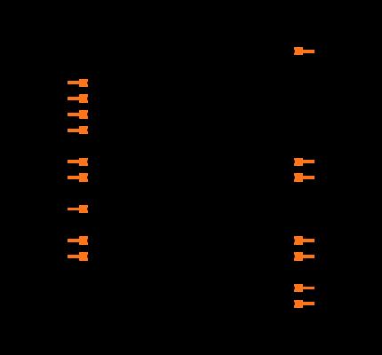 MAX327CPE+ Symbol