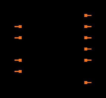 MAX4634EUB+T Symbol