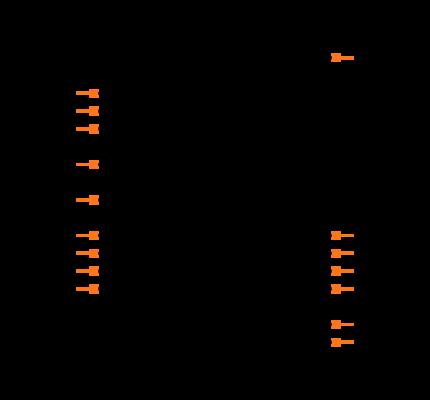 MAX4638EUE+T Symbol