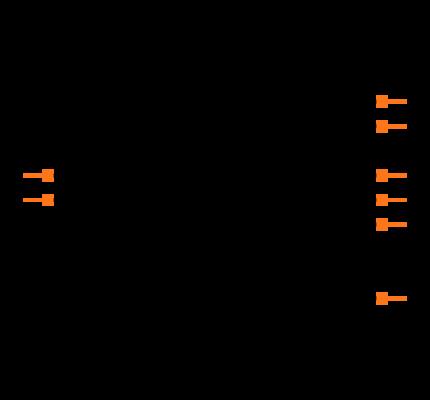 MAX690CPA+ Symbol