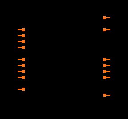 MAX7315AUE+T Symbol