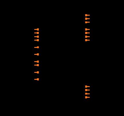 MAX8520ETP+T Symbol
