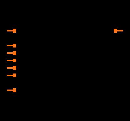25LC256T-I/SN Symbol