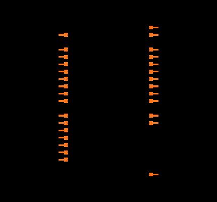 ATMEGA328P-AU footprint & symbol by Microchip   SnapEDA