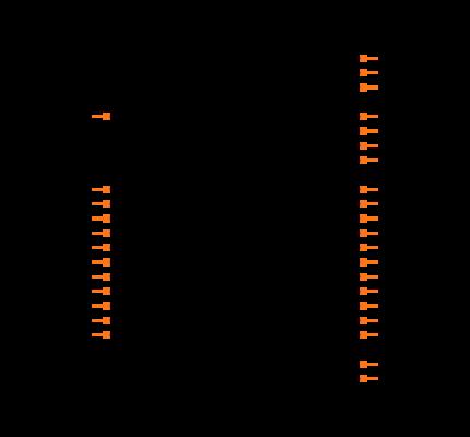 ATSAMD21E16L-MFT Symbol