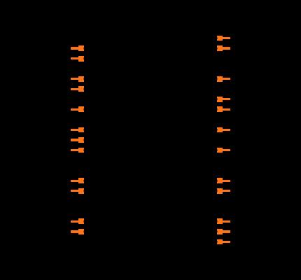 MCP39F511-E/MQ Symbol