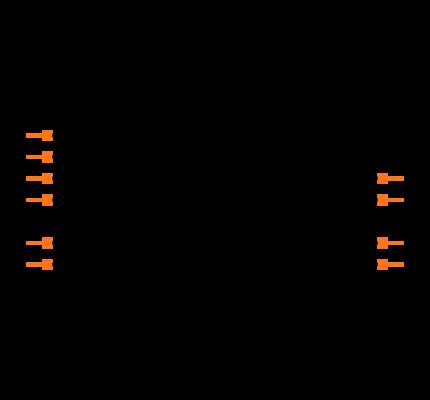 MCP4662-502E/UN Symbol