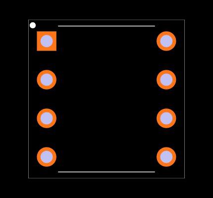 MCP4822-E/P Footprint