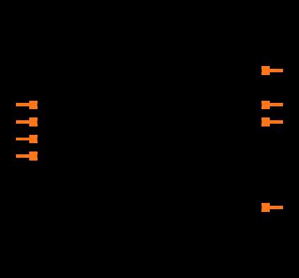 MCP4822-E/P Symbol