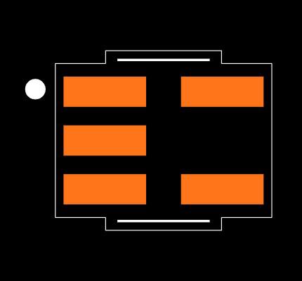 MCP6001T-I/OT Footprint