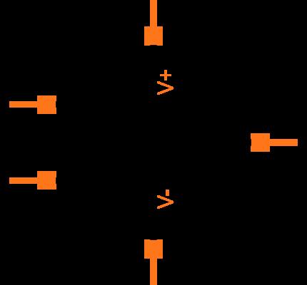 MCP6001T-I/OT Symbol