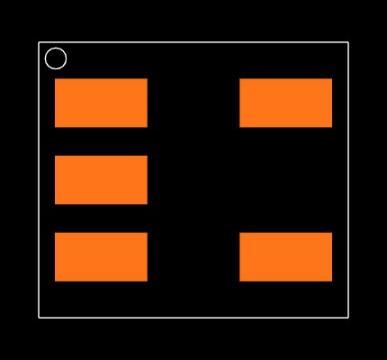 MIC5504-1.2YM5-TR Footprint