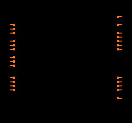 PIC16F876A-I/SO Symbol