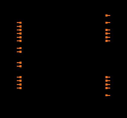 PIC18C252-I/SP Symbol