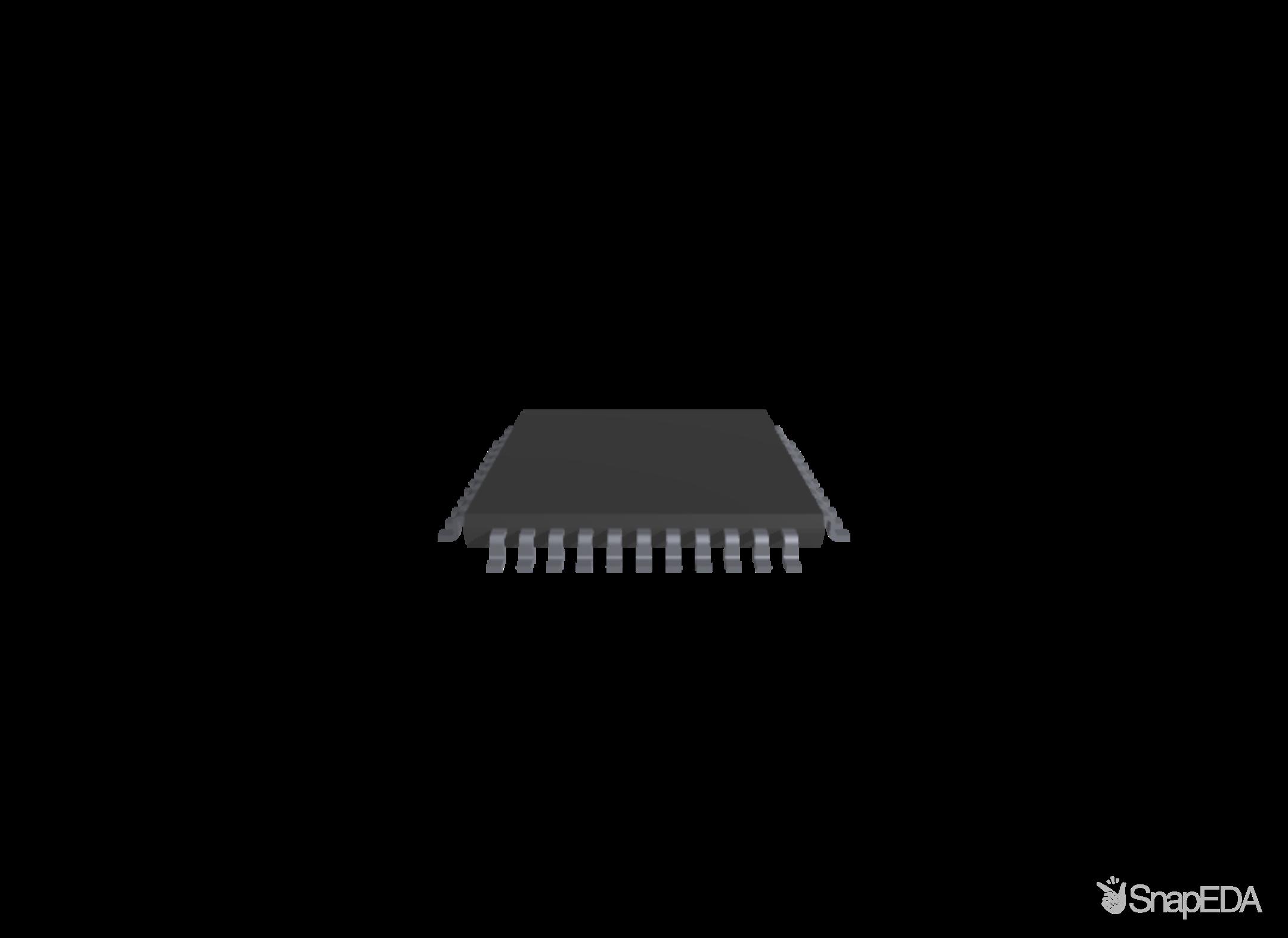 PIC18F4550-I/P 3D Model