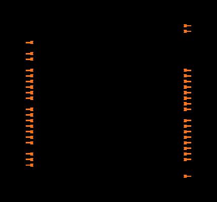 PIC18F4550-I/P Symbol
