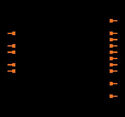 RN4871-V/RM118 footprint & symbol by Microchip | SnapEDA