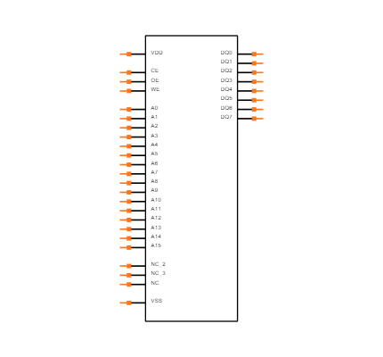 SST39VF040-70-4I-NHE-T Symbol