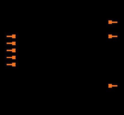 25AA256-I/SN Symbol