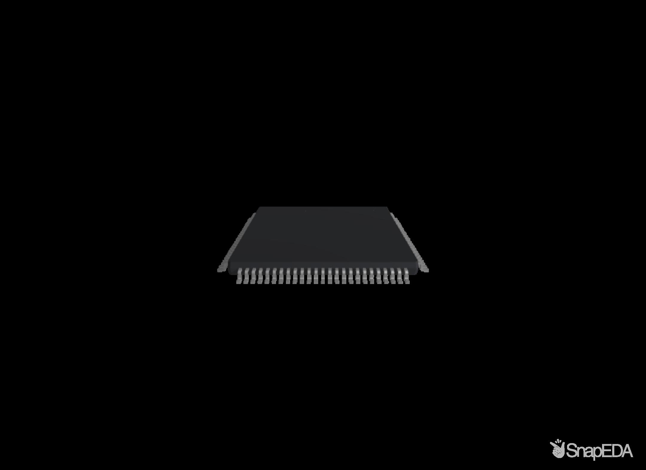 ATMEGA1280-16AUR 3D Model