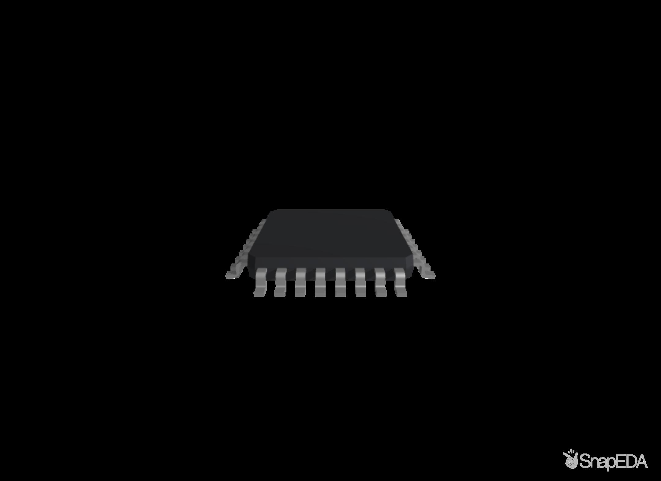 ATMEGA168P-20ANR 3D Model