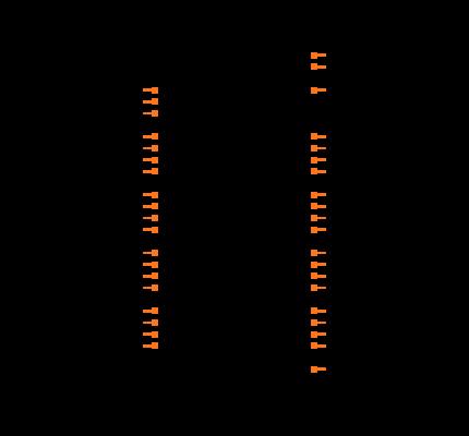 ATMEGA16A-PU Symbol