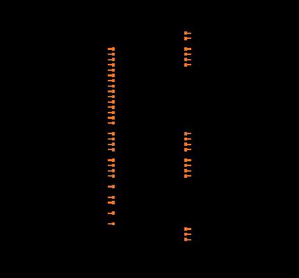 ATMEGA406-1AAU Symbol
