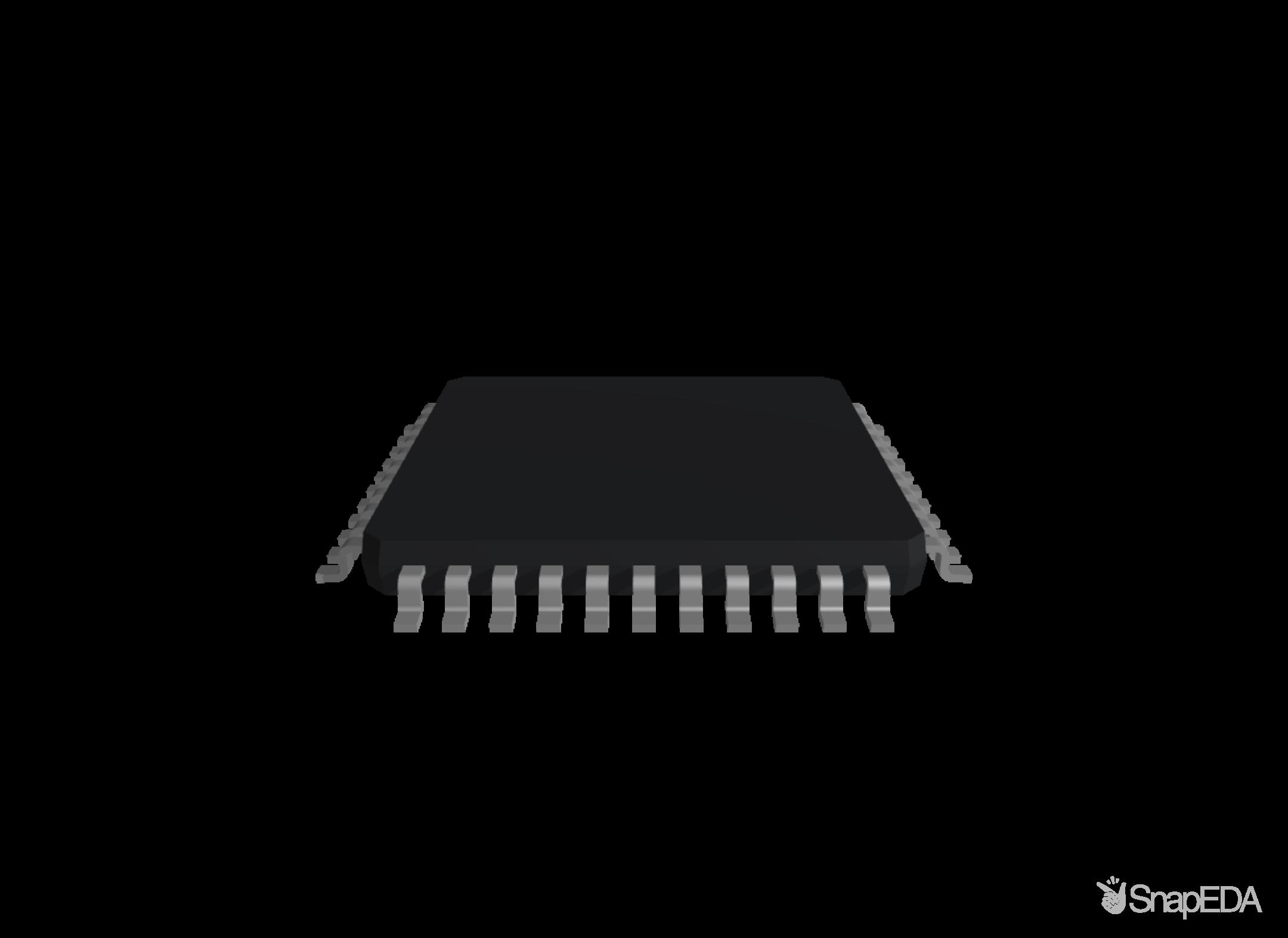 ATMEGA644P-A15AZ 3D Model