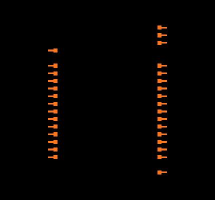 ATSAMD21E18A-AU Symbol