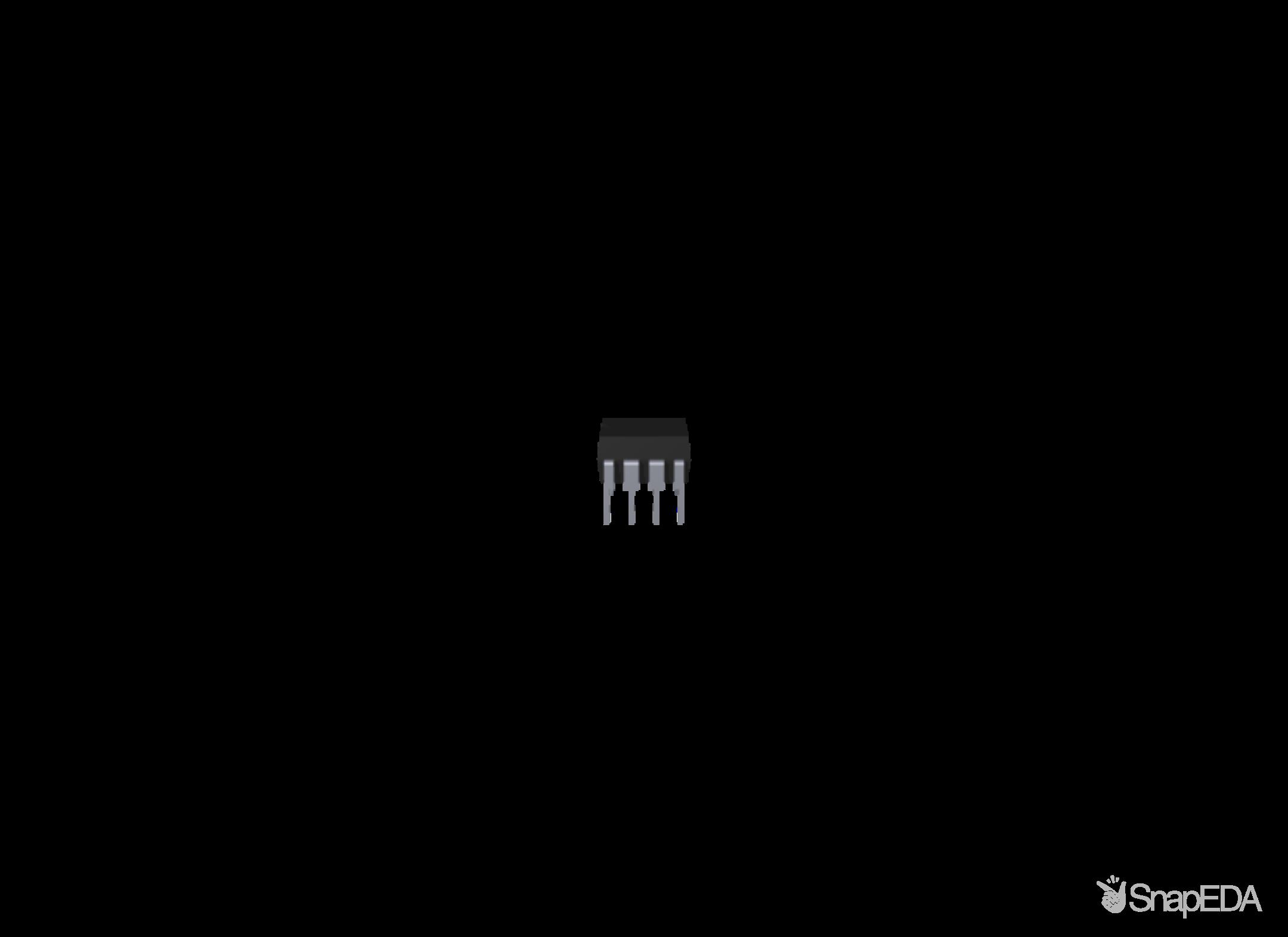 ATTINY85-20PU 3D Model