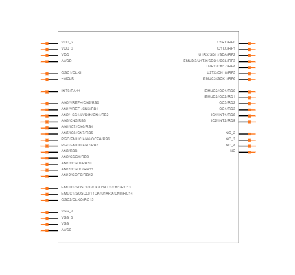 DSPIC30F4011-30I/PT Symbol