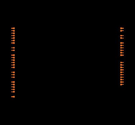 DSPIC30F4013-20E/ML Symbol