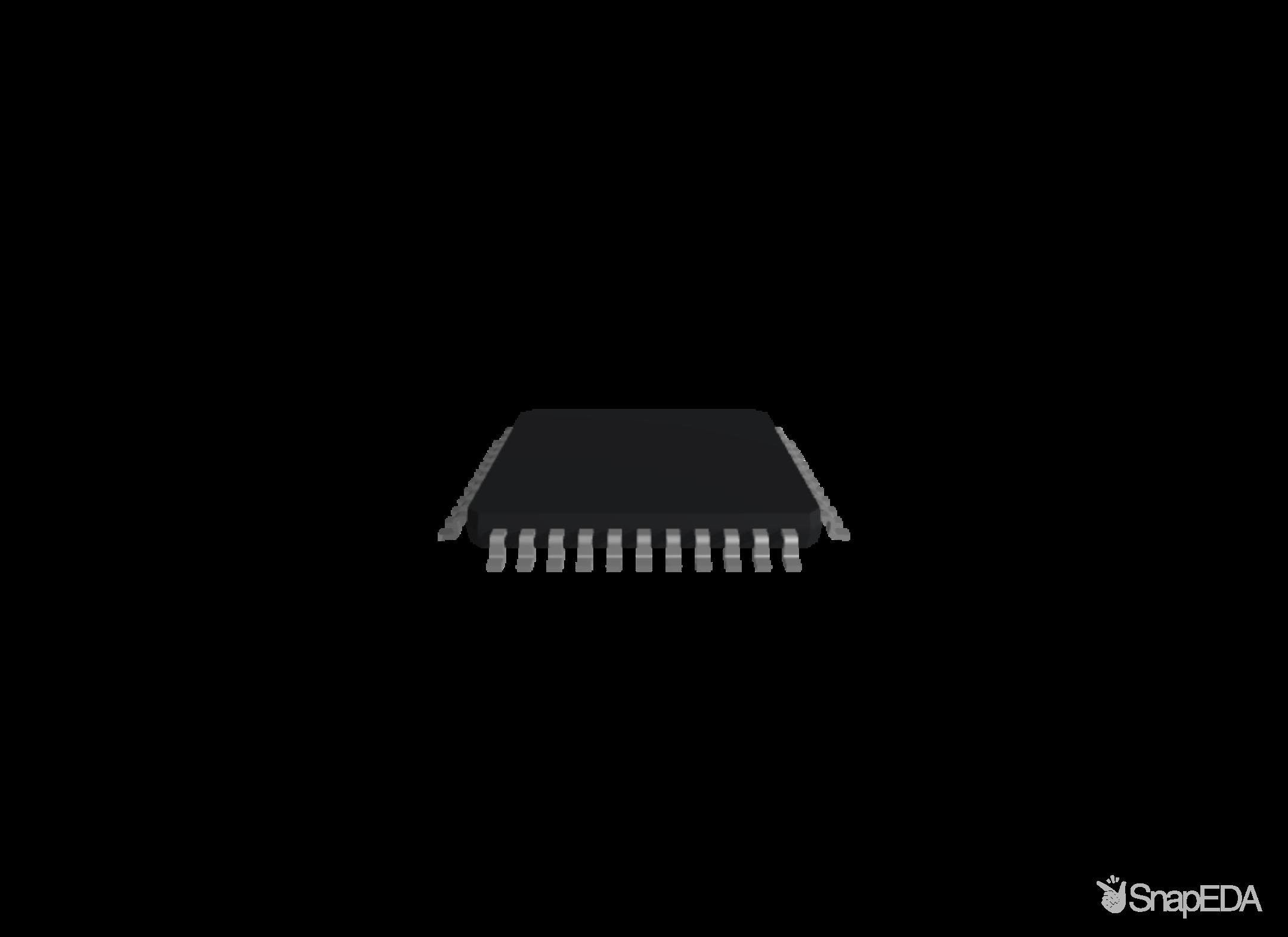 DSPIC33FJ128MC204-I/PT 3D Model