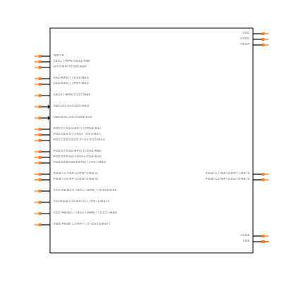 DSPIC33FJ12MC202-I/SP Symbol