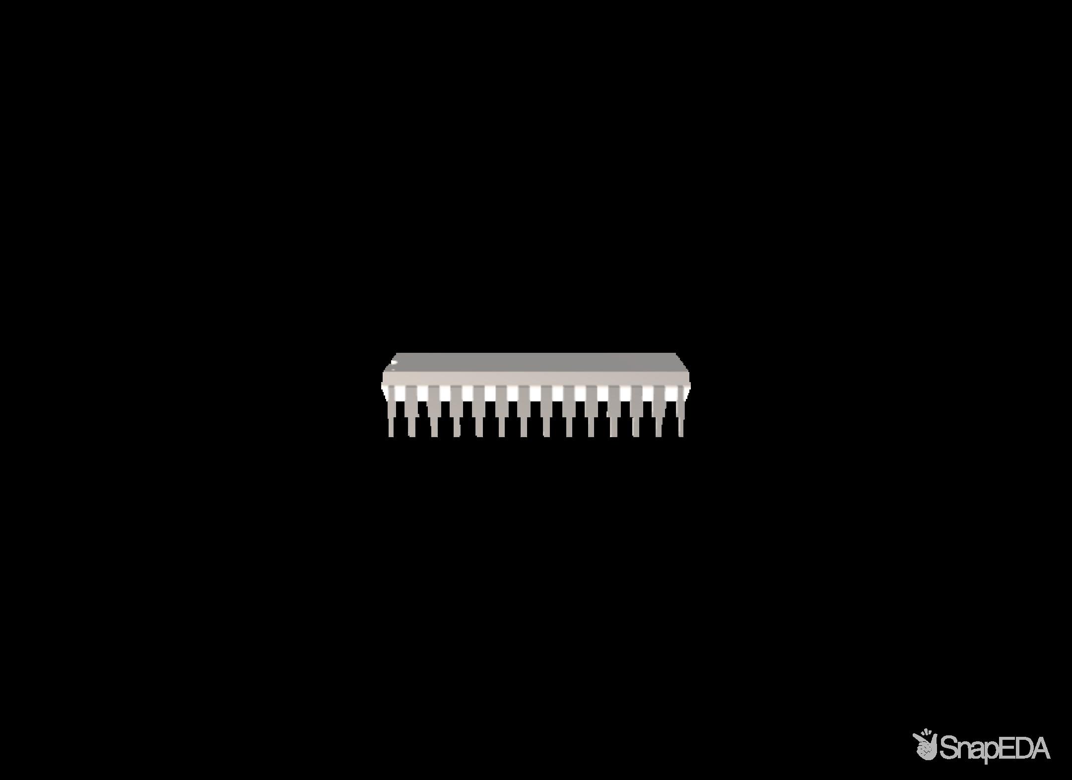DSPIC33FJ64GP802-I/SP 3D Model