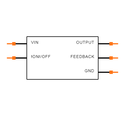 LM2576-5.0WT Symbol