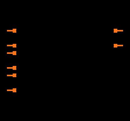 MCP6002T-E/MS Symbol
